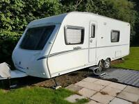Abbey Vogue 620 Fixed bed Twin axle Caravan