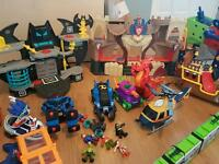 Imaginext and other toy bundle..can deliver