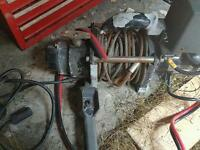 Trailer or car winch