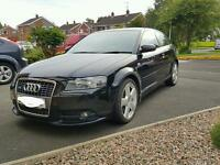 2006 2.0 Audi A3 Sline 140bhp