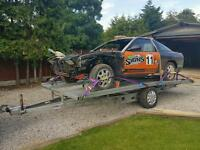 Car Trailer / Transporter & nissan 200sx S13