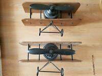 Airplane shelves x 2