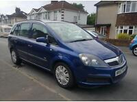 Facelift model Diesel 6speed 7 seater 2007 vauxhall zafira low miles ,10 months MOT
