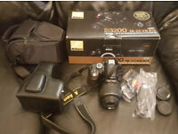 Nikon D D3200 24.2MP Digital SLR Camera - Black (Kit w/ AF-S DX VR 18-55mm)