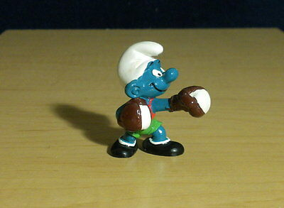 Smurfs Boxer Super Smurf Boxing Figure Rare Vintage Toy Schleich PVC Peyo 40508