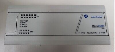 Allen Bradley Micrologix 1000 1761-l32bwa Ser E Frn 1.0 Controller