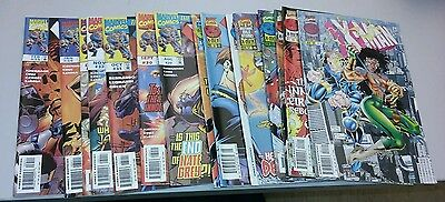 Xman comics lot 21-35 age of apocalypse xmen movie run set collection marvel wow