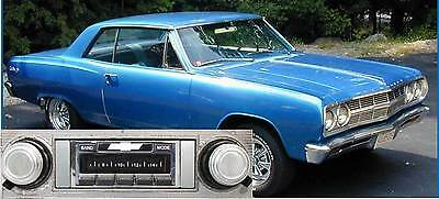 '65 Chevelle Malibu AM FM Bluetooth New Stereo Radio iPod USB Aux in, 300 watts