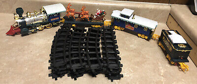 North Pole Christmas Express Train Set 1994 *AS IS/PARTS* *READ*