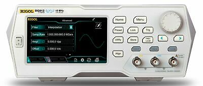 Rigol Dg812 - 10 Mhz Function Arbitrary Waveform Generator 2 Channel