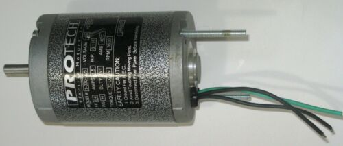 "120 Volt DC totally enclosed  0.115 hp  3620 rpm motor ""Ideal for *UNIMAT LATHE"""