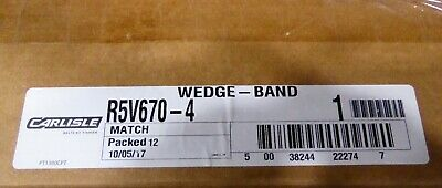 Carlisle Super Vee Band Belt R5v670-4