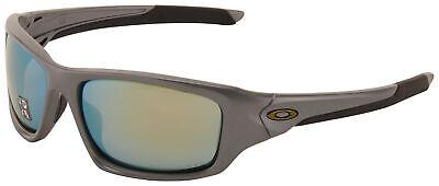 Oakley Valve Sunglasses OO9236-11 Dark Grey | Emerald Iridium Polarized