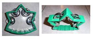 Tamburello-a-stella-verde-cembalo-4-paia-di-piattini-in-metallo-cm-12x12