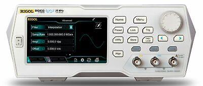 Rigol Dg832 - 35 Mhz Function Arbitrary Waveform Generator 2 Channel