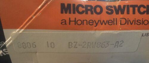 MICRO SWITCH BZ-2RW863-A2 NEW LIMIT SWITCH BZ2RW863A2 long reach lever type