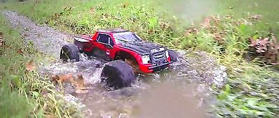 Redcat Racing Blackout XTE 1/10 Electric Remote Control RC 4X4 Red Truck Buggy