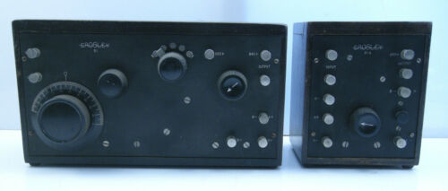 Crosley 51 1924 Battery Set & 51A AF Amplifier, Clean, X-Formers Good