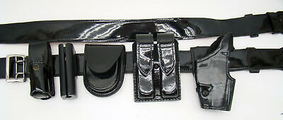Gouldgoodrich Patton Leather Duty Belt 3842 Sig 226 Right Holster Complete H