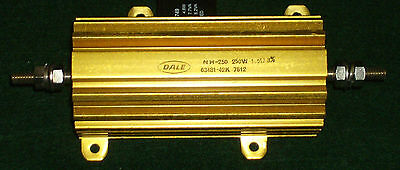 Dale 1.5 Ohm - 250w - 3 - Noninductive Wire-wound Power Resistor Nh2501r500he01