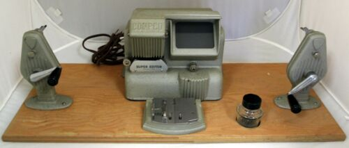 Compco Super 8mm Film Viewer and Editor Original Box