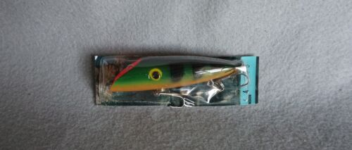 """Lyman Lure 4"""" Wood Salmon Plug No. 55 in Package MINT Condition"""