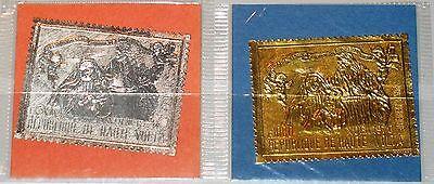 UPPER VOLTA OBERVOLTA 1970 316-7 C86-7 Christmas Weihnachten Holy Family OVP MNH