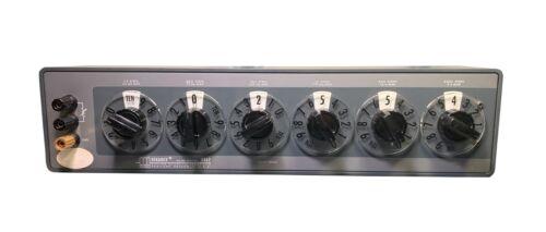 ESI Dekabox DB62 6 Decade Resistor Box