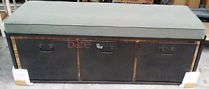 Industrial Bench Seat with 3 Storage Drawers Tullamarine Hume Area Preview