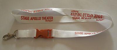 Stage Apollo Theater Stuttgart Schlüsselband Lanyard NEU (T81)