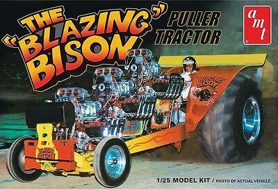 "AMT 1:25 The ""Blazing"" Bison Puller Tractor Plastic Model Kit AMT1006"
