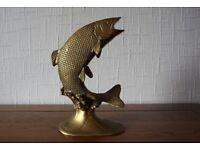 Vintage Brass Trout/Salmon.