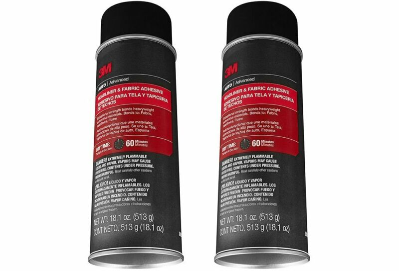 3M 38808 Headliner Adhesive - 18.1 oz, 2-Pack