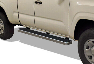 """iBoard Running Boards 6"""" Fit 05-19 Toyota Tacoma Access Cab"""