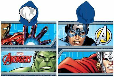 Poncho de Baño Avengers 100% Algodón Infantil Toalla Regalo Strand