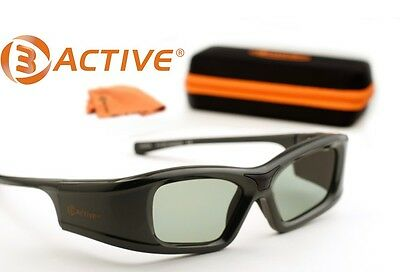 SAMSUNG-Compatible 3ACTIVE® 3D Glasses. Rechargeable.