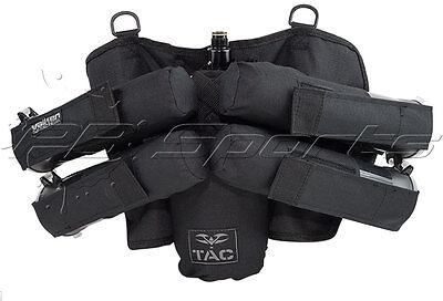 Valken V-TAC 4+1 Pod Tank Harness Paintball Pack Black Tactical Pod Pack NEW