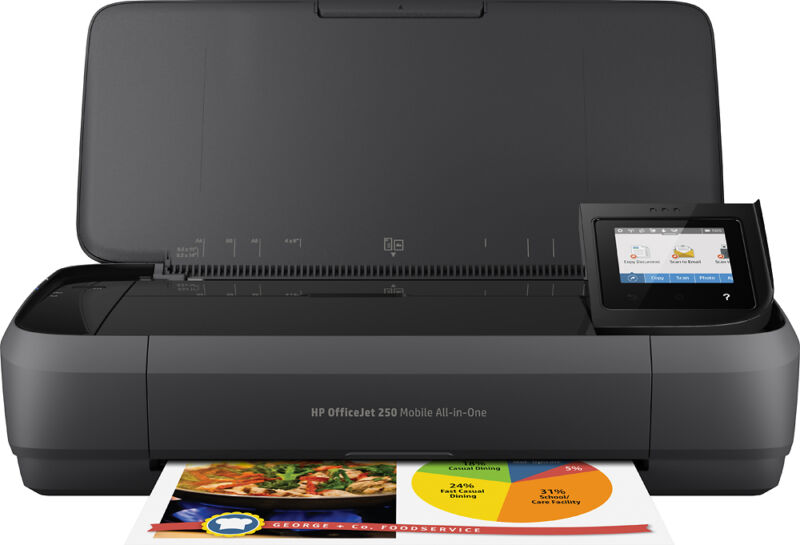 HP Officejet Mobile Wireless All-In-One Printer 250