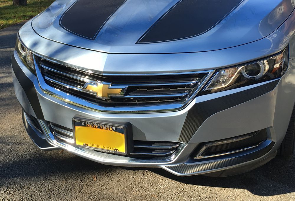 2014-2018 Chevy Impala  LT LTZ SS Side Mirror Accent Overlays Decals