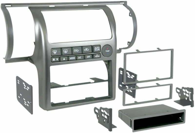 Metra 99-7604 Single/Double DIN Installation Dash Kit for 2003-2004 Infiniti G35