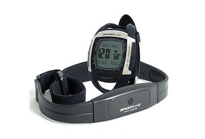 Sportline Cardio Connect Heart Rate Monitor + GPS - Black (NEW)