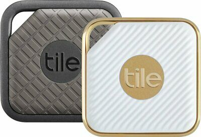 Tile Pro Bluetooth Smart Locator Tags for Valuable Items  - Sport & Style 2-Pack