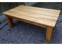 Oak Furniture Land Solid Oak Coffee Table - Can Deliver