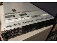 Dell poweredge R510 server 2 xenon CPU, 32gb memory