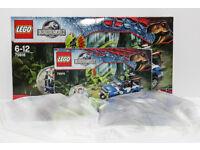 Lego Jurassic World 75916 Dilophosaurus ambush. Complete in sealed bags. Box open