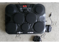 Gear4music DD305 portable electronic Drum Machine/Pads