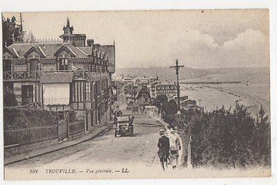 France, Trouville, Vue Generale LL 182 Postcard #2, B083