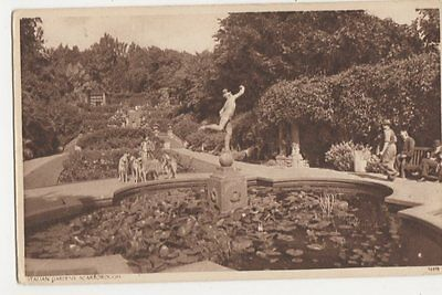 Italian Gardens Scarborough Postcard, B113