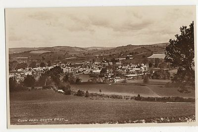 Clun from South East RP Postcard, B113