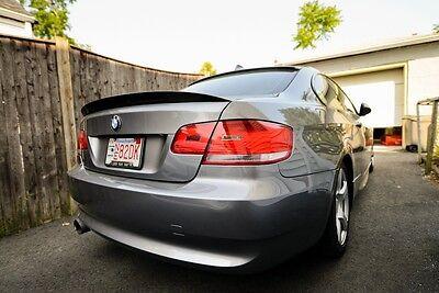 BMW E92 Carbon Fiber High Kick Performance Style Trunk Spoiler (Bmw E92 Carbon Fiber)